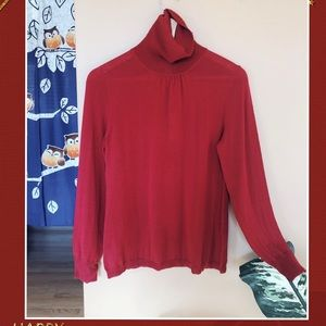 New withtag LOFT women wool turtleneck sweater top